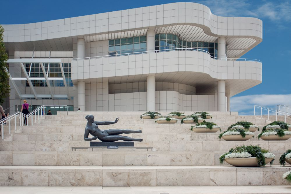 Ingresso del Getty Museum di Los Angelese